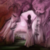 Fantasie, Rosa, Alptraum, Traum