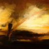 Fantasie, Rückblick, Malerei, Digitale kunst