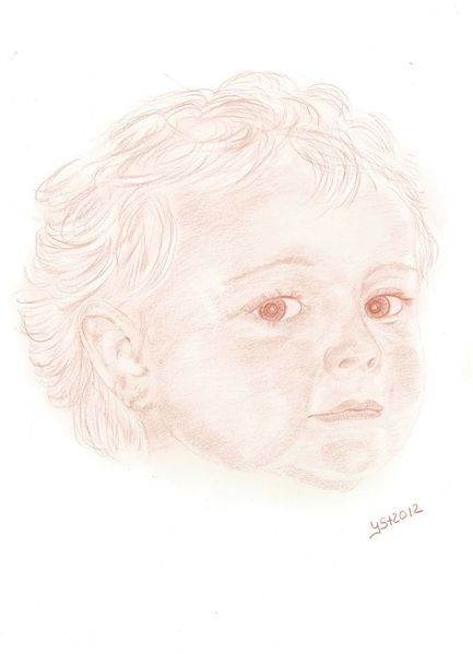 Menschen, Portrait, Kinder, Zeichnungen