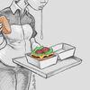Spucke, Mcdonalds, Fast food, Zeichnungen