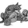 Tattoo, Rotkäppchen, Wolf, Zeichnungen