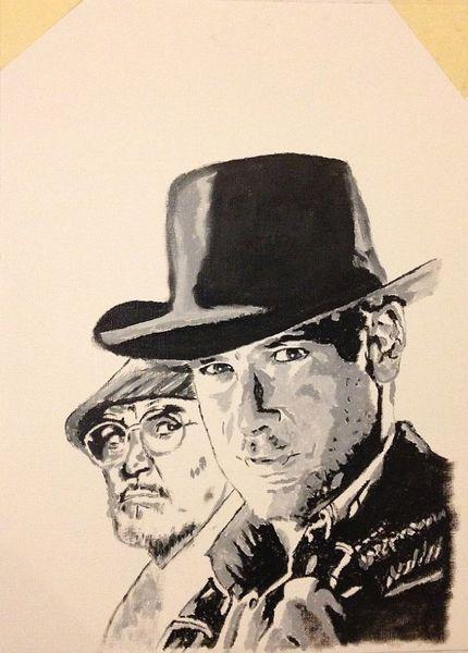 Film, Harrison ford, Sean connery, Indiana jones, Malerei
