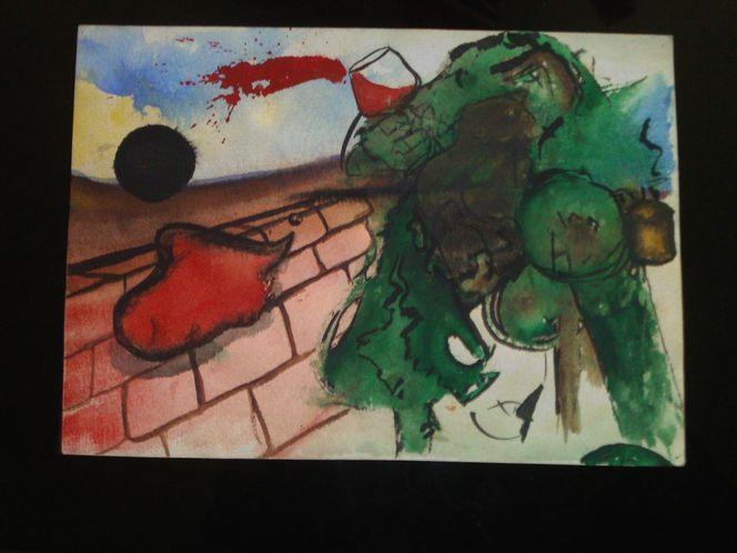 Acrylfarben, Malerei, Surreal, Baum, Erkenntnis