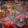 Universum, Fantasie, Malerei, Stern