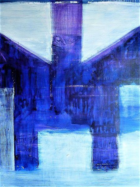Malerei, Ölmalerei, Abstrakt,