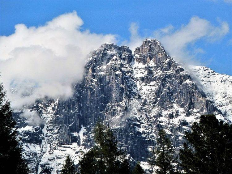 Wolken, Wetter, Landschaft, Seefeld, Berge, Fotografie
