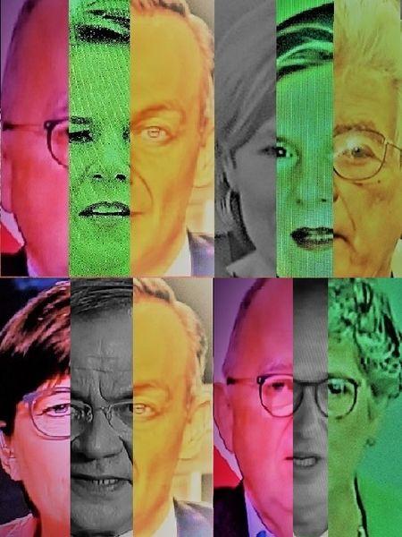 Mann, Koalition, Frau, Poker, Gesicht, Politische farbenlehre