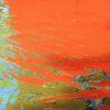 Wasser, Spiegelung, Farben, Struktur