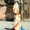Akrobatik, Aufführung, Figur, Straßenaktion