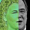 Menschen, Koalition, Mann, Grünschwarz