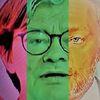 Mann, Politische farbenlehre, Gesicht, Menschen