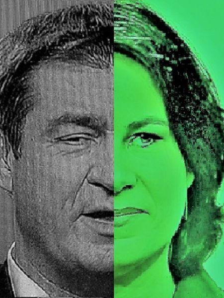 Konstellation, Wahlumfragen, Bundestagswahl, Koalition, Farbenlehre, Fotografie
