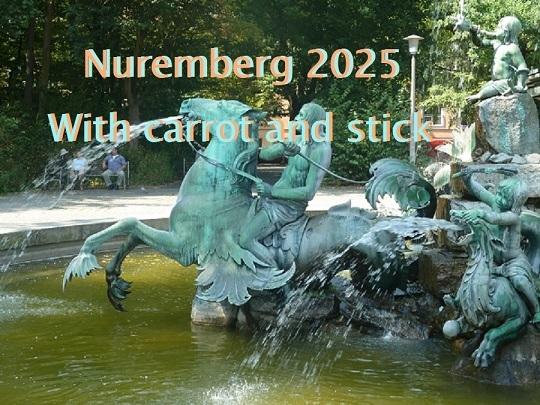 Botschaft, Bewerbung, Nürnberg 2025, Kulturhauptstadt, Peitsche, Dressur