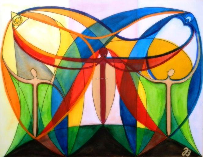 Verbundenheit, Geist, Energie, Dreifaltigkeit, Kreuz, Vater
