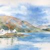 Schottland, Aquarellmalerei, Plockton, Isle