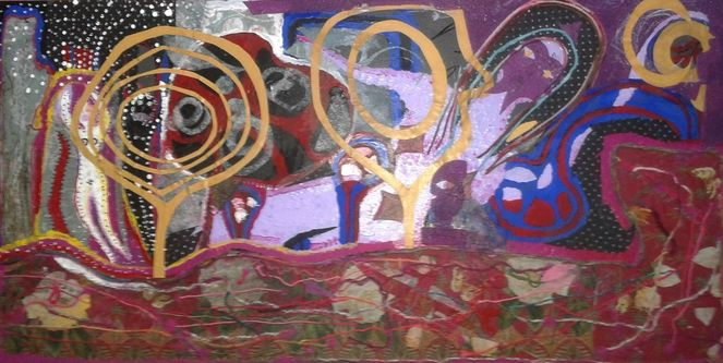 Mischtechnik, Collage