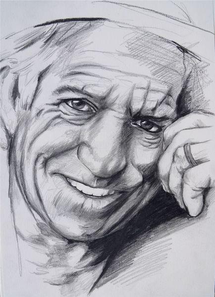 Zeichnung, Keith richards zeichnung, Stones zeichnung, Rolling, Keith richards, Skizze keith richards