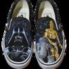 Acrylmalerei, Fantasie, Schuhe, Star wars