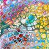 Pastellmalerei, Formen, Pouring, Zelle