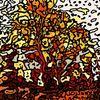Herbst, Baum, Digitale kunst, Abstrakt