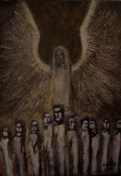 Weltuntergang, Malerei, Menschen