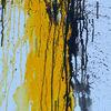 Moderne kunst, Acrylmalerei, Schwarz, Leidenschaft