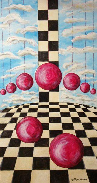 Acrylmalerei, Malerei, Surreal