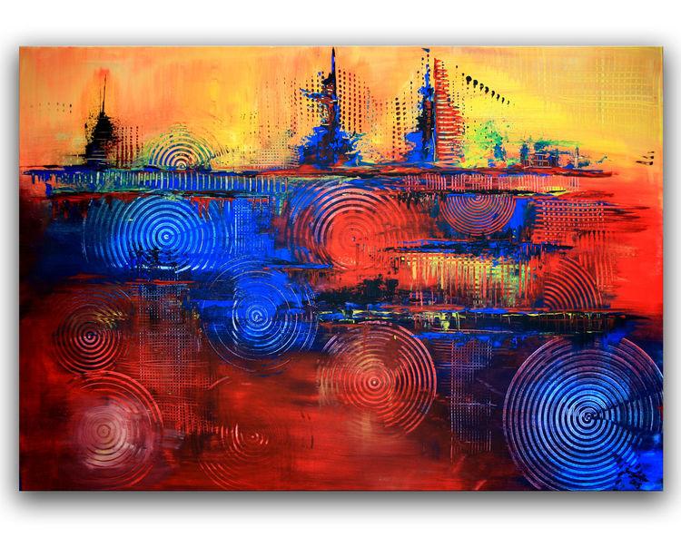 Abstrakt, Moderne kunst, Malerei, Gemälde, Moderne malerei,