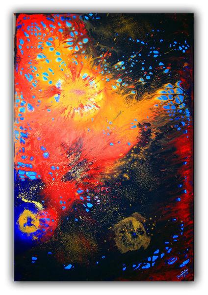 Bilder abstrakt, Abstrakte kunst, Abstrakte malerei, Acrylmalerei, Modern, Abstraktes gemälde