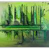 Gemälde, Abstrakt, Urwald, Malen