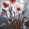 Acrylmalerei, Malen, Blumen, Sturmblüten