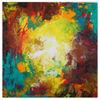 Universum, Bunte malerei, Acrylmalerei, Malerei