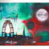 Wien Stadtbild Staedtebild Stadtmalerei Staedtemalerei stadt skyline abstrakt malerei gemaelde kunst wandbild - stadtbild, staedtebild, stadtmalerei, stadt, staedtemalerei, abstrakt, malerei, gemaelde, kunst, wandbild, wien, acrylbilder, orginal, wandbild, moderne kunst, abstrakte malerei