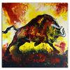 Abstrakt, Acrylmalerei, Bulle, Fluid painting