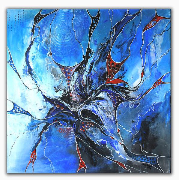 Acrylmalerei, Malerei, Wasser, Abstrakte kunst, Wandbilder,