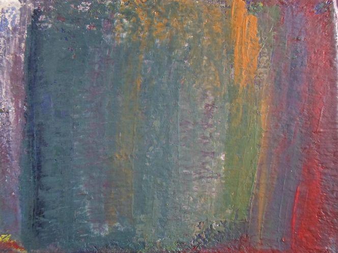 Spachteltechnik, Acrylmalerei, Abstrakt, Malerei