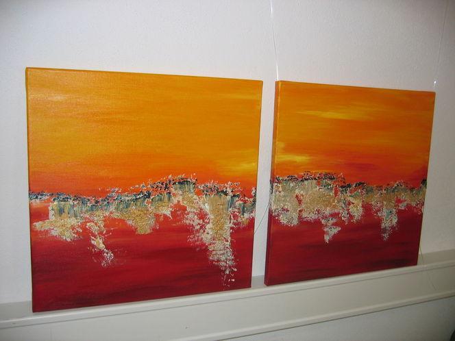 Malerei, Duo