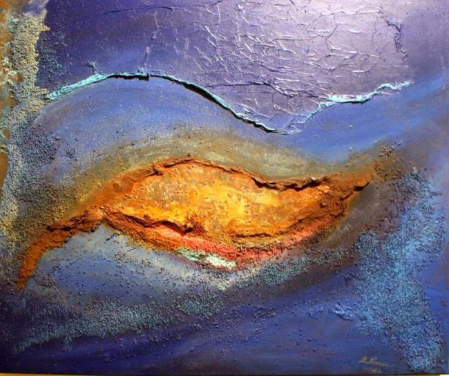 Welt, Universum, Geburt, Malerei