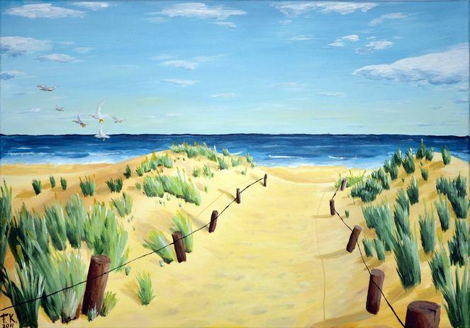 Nordsee, Urlaub, Strand, Dünen, Meer, Natur