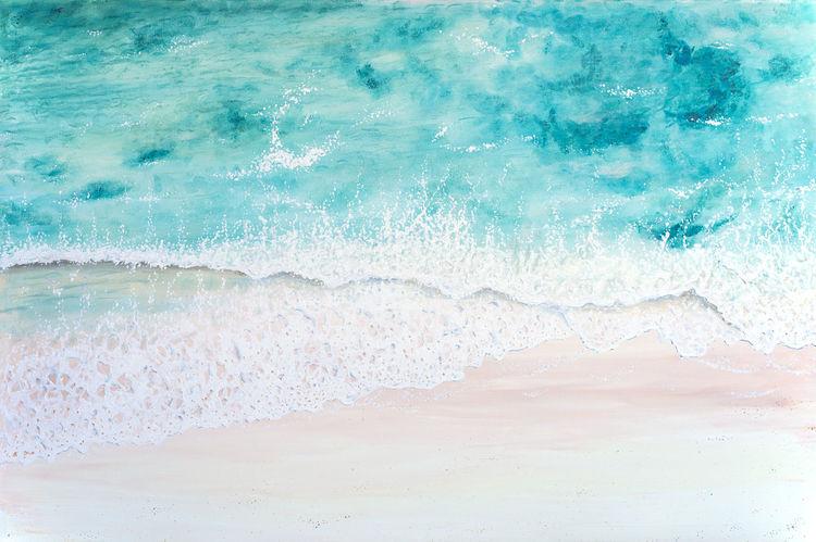 Küste, Meer, Paradiesisch, Landschaft, Traumstrand, Küstenlandschaft
