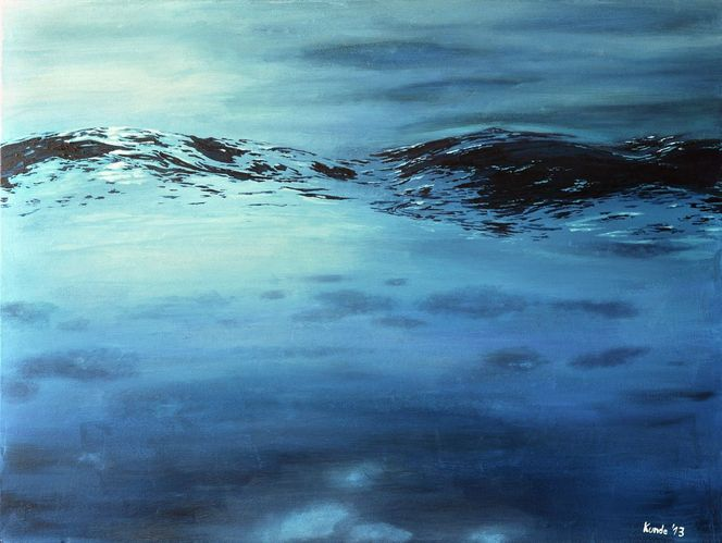 Meeresspiegel, Welle, Wasseroberfläche, Realismus, Wasser, Natur