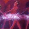 Tanz tänzerin ballet, Malerei, Tanz