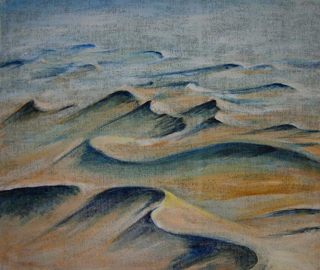 Wüste sand, Malerei, Wüste
