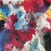 Abstrakt, Acrylmalerei, Struktur, Schüttungen