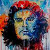 Modern, Che guevara, Bunt, Malerei