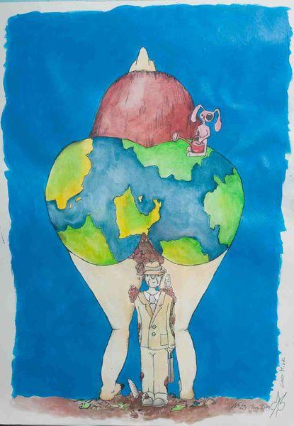 Schütze, Natur, Kot, Erde, Welt, Schutz