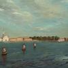 Landschaft, Venedig, Venezia, Gemälde