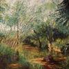 Baum, Gegenständlich, Natur, Malerei
