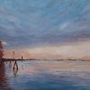 Venedig, Gemälde, Wasser, Impressionismus
