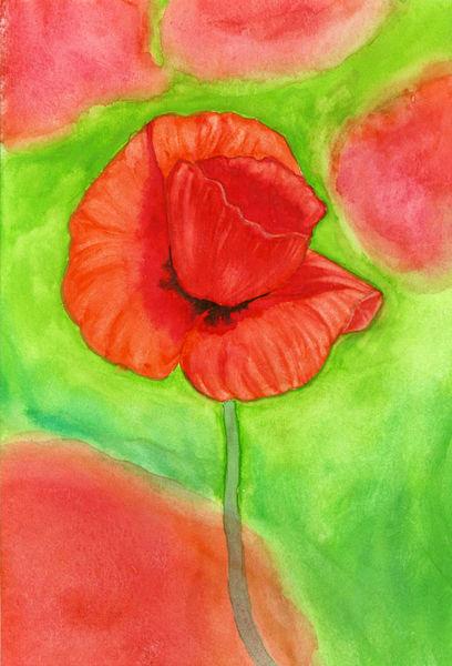 Blumen, Pflanzen, Malerei